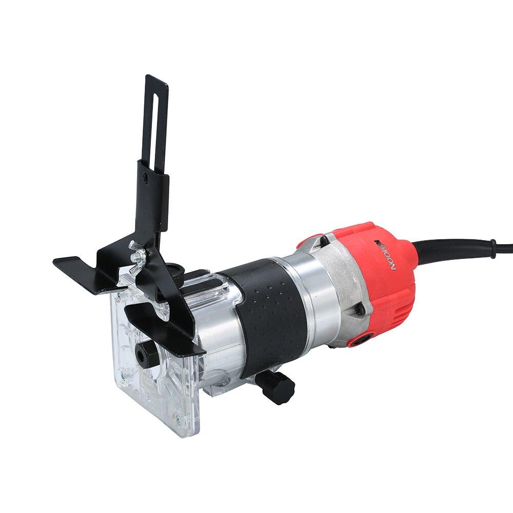 Recortadora eléctrica de 220 V 800 W recortadora de bordes laminados de mano enrutador de madera - 4