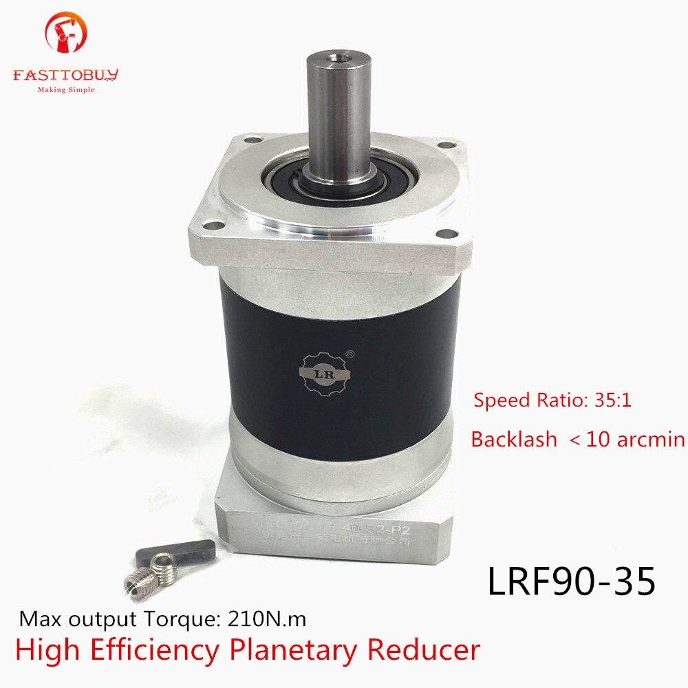 High Precision Arcmin<10 NEMA32 Gearbox Reducer Matching 80mm Servo Stepper, Reducer Ratio 35:1 Planetary Reducer LRF90-35 New цены онлайн