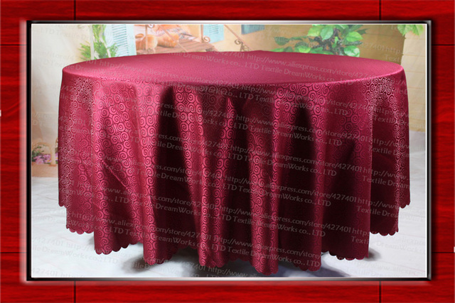 Burgundy Chair Covers Wedding Throw Overs For Chairs Free Shipping Jacquard Tablecloth Table Cover Party Hotel Banquet Decorations Sashes