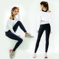 3 PCS Set Yoga Suit Fitness Workout Clothes For Women Training Exercising Sportswear Female Sports Sets