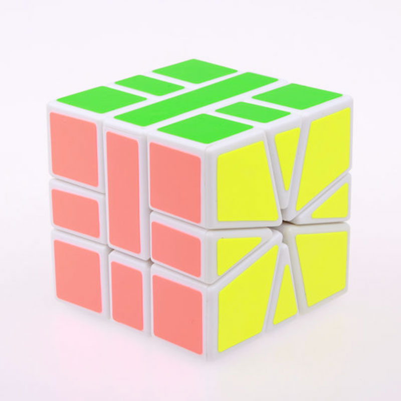 Sheng Shou Square-1 magic speed cube pendidikan profesional 3X3X3 SQ1 - Teka-teki - Foto 4