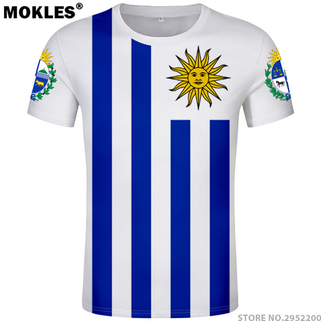 fe2e3d896513 URUGUAY t shirt diy free custom made name number ury T-Shirt nation flag uy  uruguayan spanish country college photo text clothes
