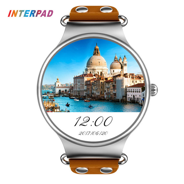 2017 Interpad KW98 Smart Watch Android 5.1 3G WIFI GPS Watch MTK6580 Smartwatch iOS Android For Samsung Gear S3 Xiaomi PK KW88