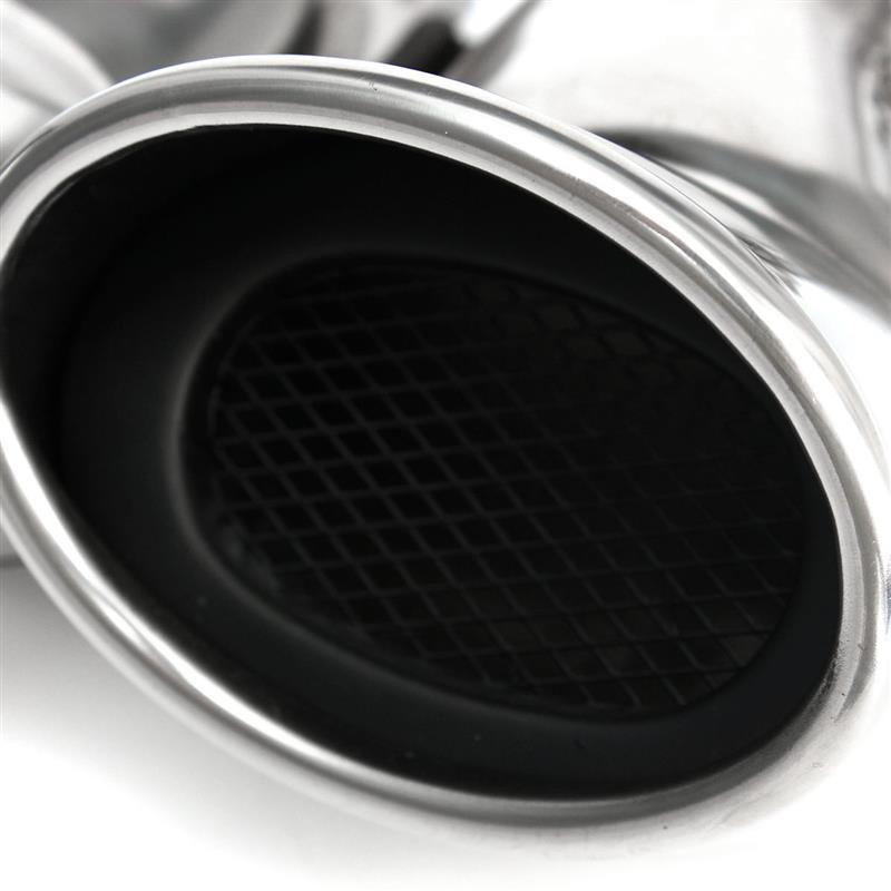 Tubo duplo de aço inoxidável do silenciador