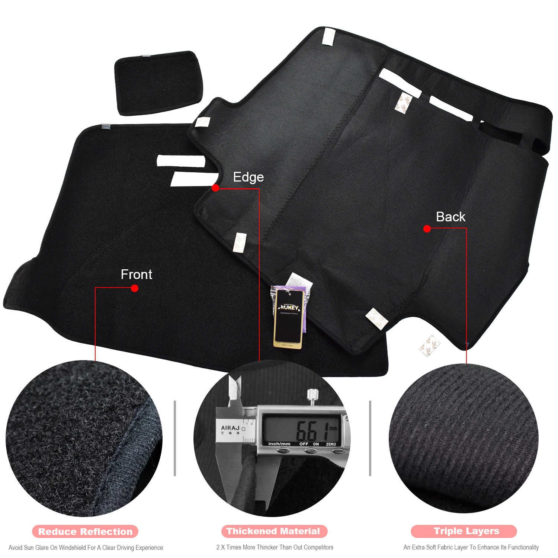 Xukey крышка приборной панели dashmatt Dash коврик для Ford F150 F-150 2015 2016 2017 2018 крышка панели солнцезащитный коврик