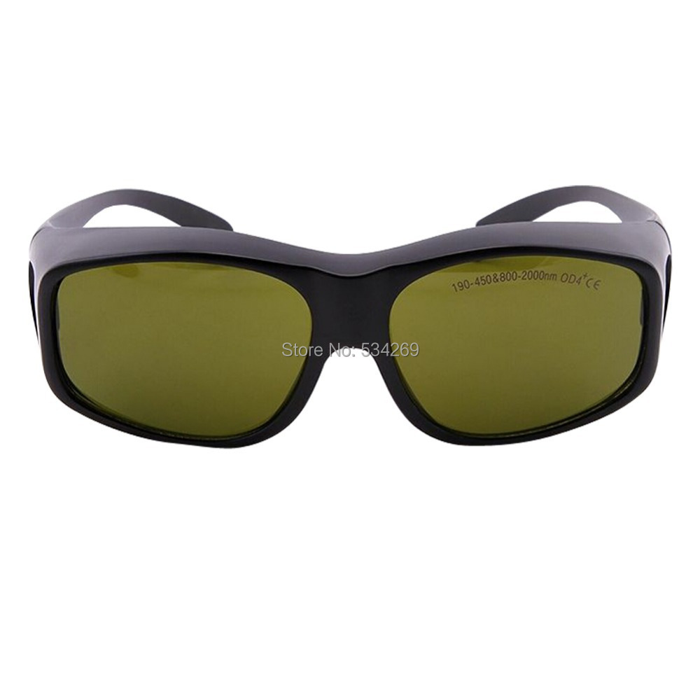 BDJK YH-5E Laser Safety Goggles 190~450nm&800~2000nm Multi-Wavelength, OD 4+, Laser Protection Glasses Goggles bdjk yh 9e laser safety goggles 190 380nm