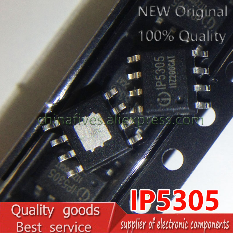 IP5305 Synchronous Rectification 1.2A Charging 1.0A Discharge Mobile Power Five-in-one Original Authentic