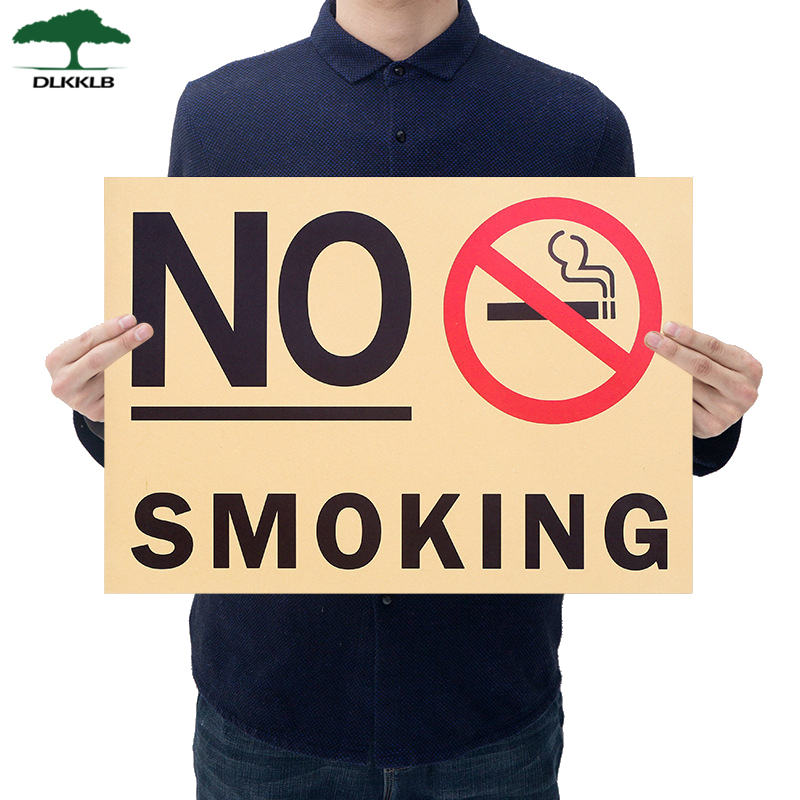 Dlkklb Vintage Poster Promotion No Smoking Commonweal Poster Stickers As Follows Wall Sticker Posters Home Decoration