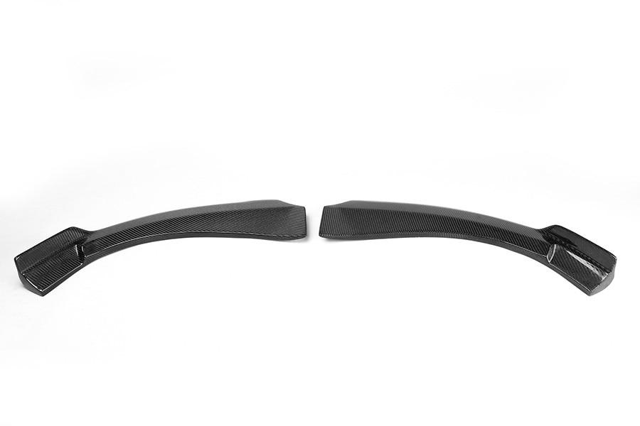 Углеродное волокно Авто фронтальные Рассекатели фартуки для Mercedes Benz cla Class C117 Седан 4 двери 13-14 не AMG CLA250 CLA200