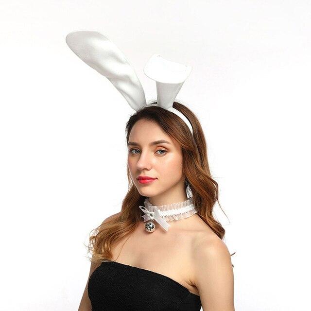 Oreille de lapin + queue Plug Anal fourrure douce sexe pour jeu et fête princesse silicone gode vibrateur masseur (vibrateur 10 vitesses)