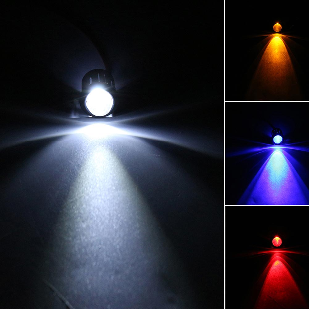 10 Pcs/Set 12V 10mm Pre-Wired Constant LED Ultra Bright Water Clear Bulb Cable 20cm Prewired Led Lamp MAL999