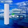 COMFAST 300 Мбит беспроводной Точки Доступа с 14dBi WI-FI Антенны 5.8 ГГц высокой мощности беспроводной мост WIFI охват CPE Nanostation