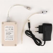 D C 12 В 6800 мАч литиевый аккумулятор Водонепроницаемый многоцелевой запасной аккумулятор для видеонаблюдения Камера Электронный DC Батарея