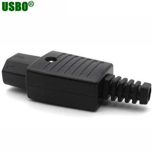 Image 4 - 250v 10a IEC320 C13 C14 C15 AC PDU UPS verdrahtete steckdose inline kabel montieren installieren elektrische Panel Buchse AC buchse