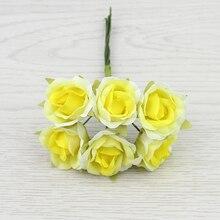 Artificial Rose Bouquet for Home Decoration