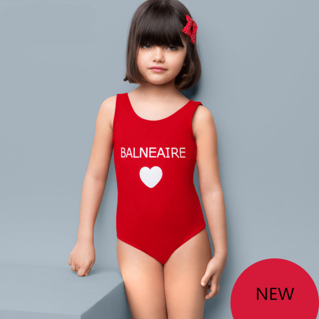 449a058fdc2cd One Piece Children Swimsuit Girls Bodysuit Cover Up Kids Swimwear Cute  Loving Heart Bathing Suits Beach