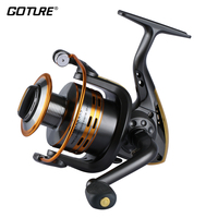Goture Brand GT S Spinning Fishing Reel Metal Spool 6bb For Freshwater Saltwater 500 1000 2000