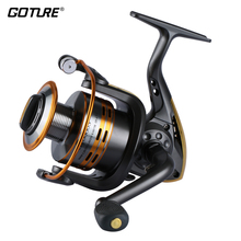 Goture Brand  Spinning Fishing Reel Metal Spool 6bb for Freshwater Saltwater GTS500 1000 2000 3000 4000 5000 6000 Series