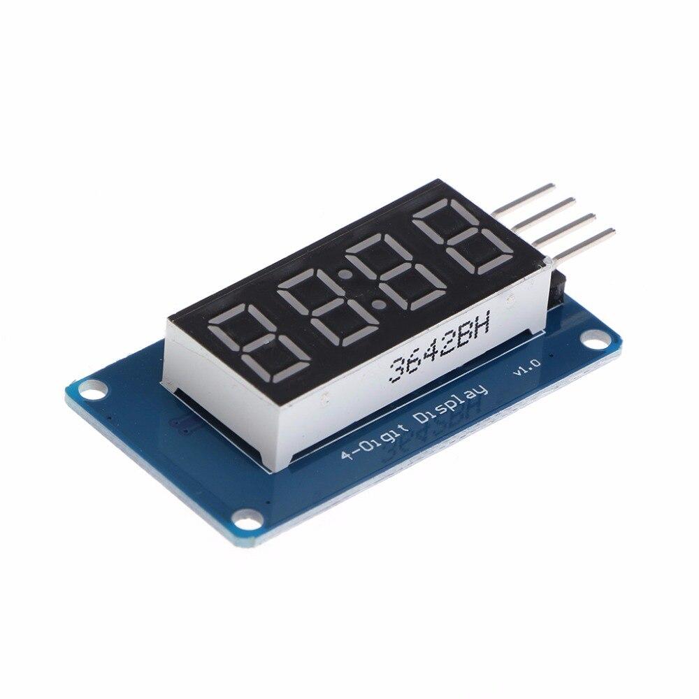 4 биты TM1637 цифровой трубки светодиодный часы Дисплей модуль связи UNO 2560 R3