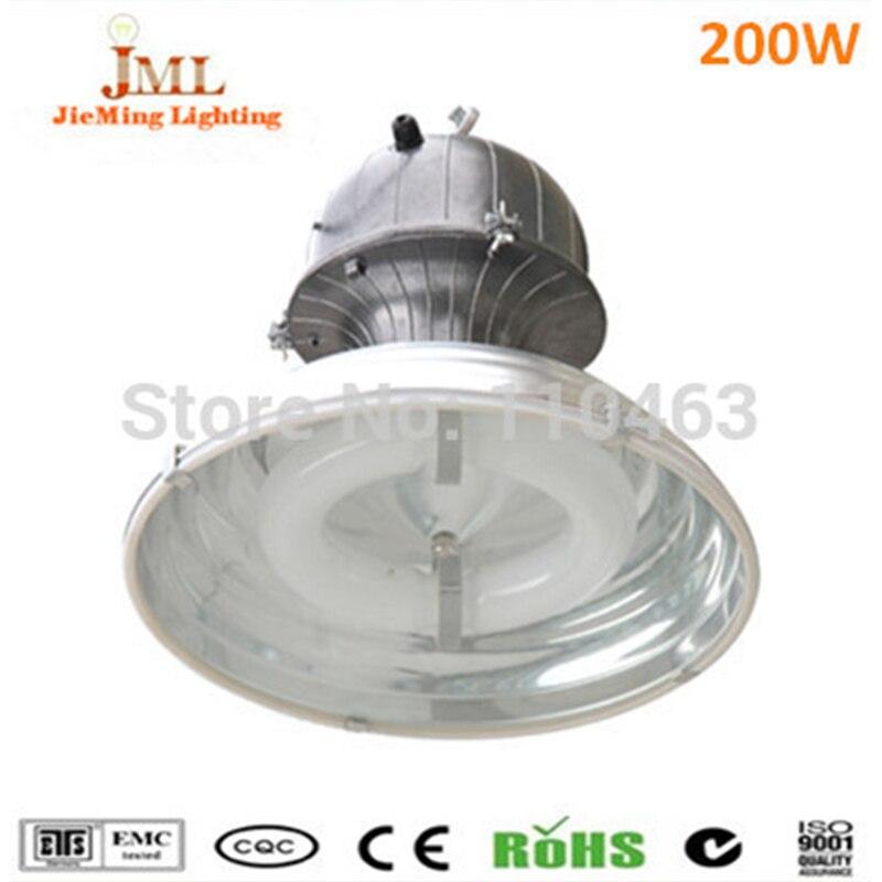 200W High bay factory warehouse car park light lamps IP65 Waterproof Aluminum housing high bay indoor lighting induction lamps