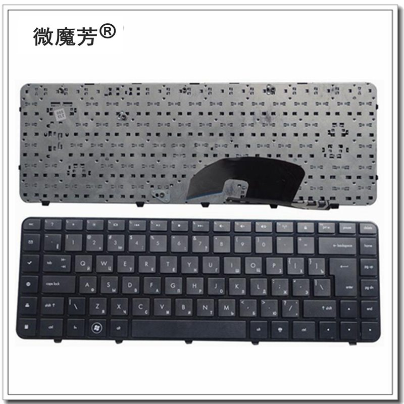 Russia For HP MP-10G63SU6920 AELX8700010 606745-251 641499-251 DV6-3000 3029TX 3028 3049 3013 RU Laptop Keyboard