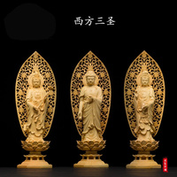 Buddha Chinsse Arts And Wood Crafts Furnishing Home Decorations Accessories Ornaments Collection Chrismas Wedding Gift
