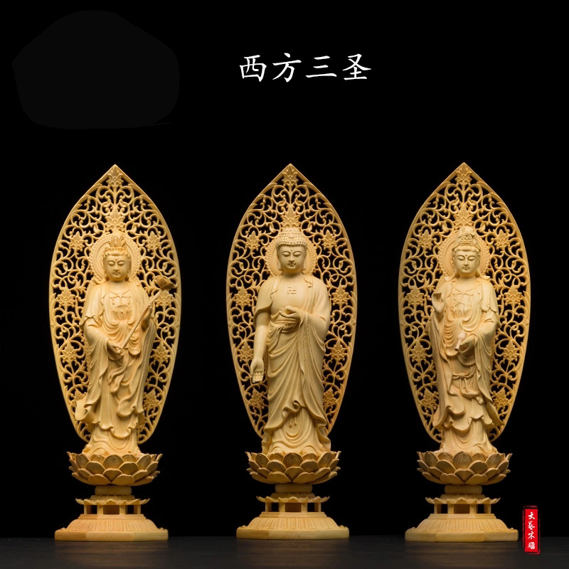 Buddha Chinsse arts and wood crafts Furnishing home decorations accessories ornaments collection chrismas wedding gift xinqite home furnishing ornaments product suspension globe round 3 inch 85mm blue english version of the spot