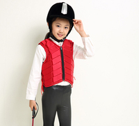 Kids Knight Suit Body Protector Girls and Boys Horse Riding Armour Equipment Protective Vest Jacket for Horsemanship