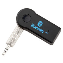 Mini Wireless Bluetooth Receiver 3.5mm Jack Bluetooth Car kit Audio Sound Music Adapter Cable with mic for Speaker Headphone