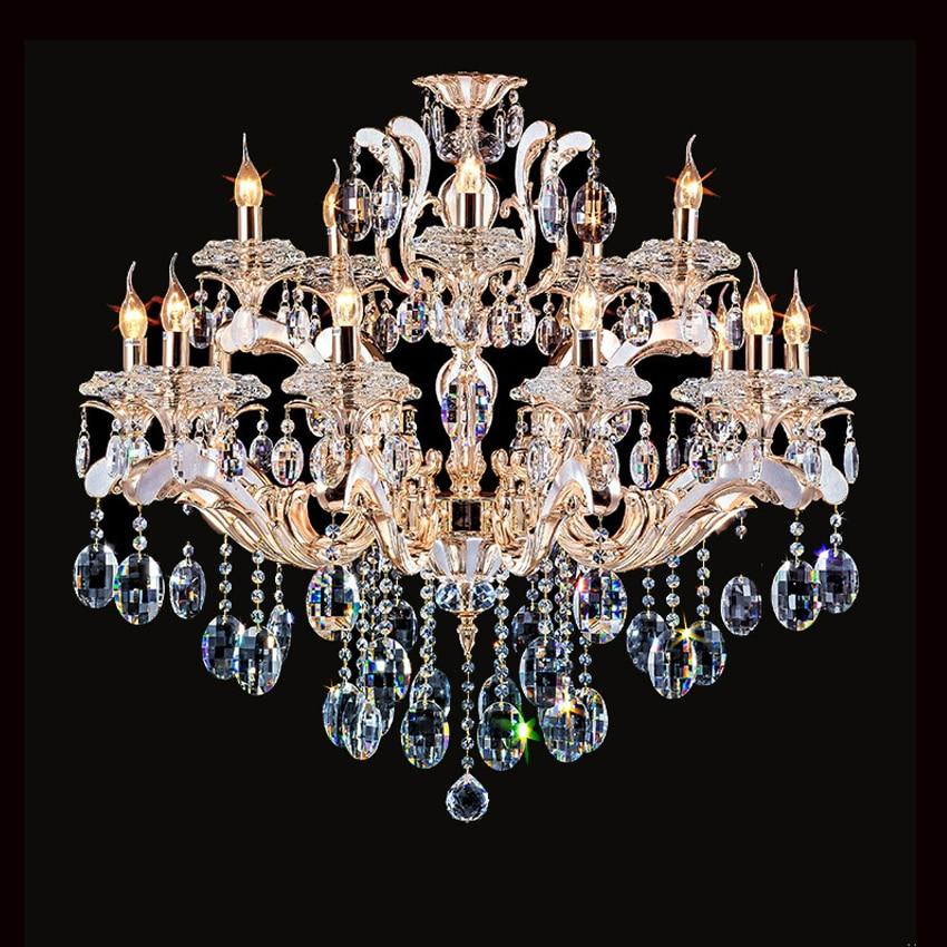 Dining Room Modern Crystal Chandeliers: Aliexpress.com : Buy Modern Crystal Chandelier Rose Gold