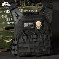 2018 JPC Tactical Vest Quick Reaction Vest 1000D Molle US Nylon Chest Rig Protective Plate Carrier Military Combat Gear Vests