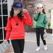 Girls Clothing Set Casual Kids Sport Suits For Girls Children Tracksuits 4 6 8 10 12Y Girl Spring Autumn clothes boys girls sport suits casual children clothing set spring autumn high quality kids clothes 4 5 6 7 8 9 10 year tracksuits