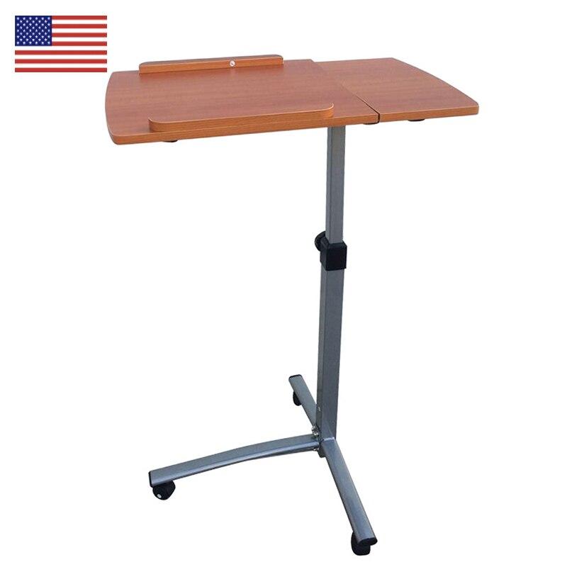 Bedside Standing Computer Desk Home Use Multifunction ...