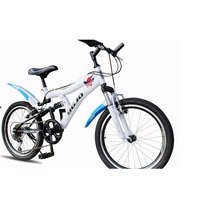 Double V Brake Cycling Mountain Bike 6 Speed 22 Inch Pedal Full Shockingproof Frame