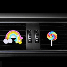 Lollipop Style car Perfume clip air conditioner outlet freshener in the automobile  diffuser