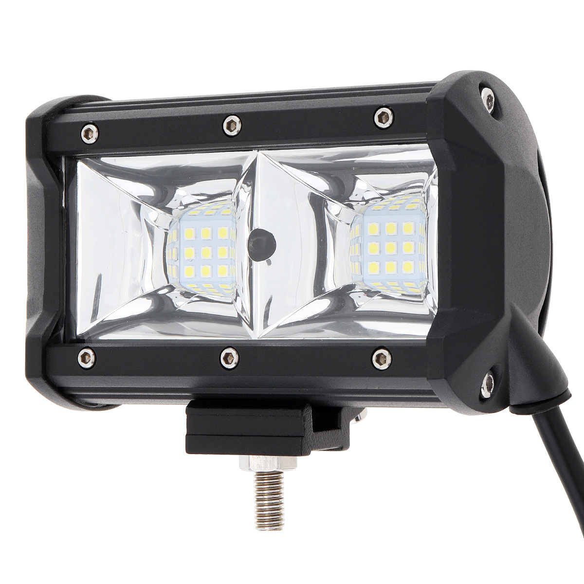 Image 5 - LED Bar 5 inch  LED Light Bar 3 Rows Work Light Combo Beam for Driving Offroad Boat Car Tractor Truck 4x4 SUV 12V 24V-in Car Headlight Bulbs(LED) from Automobiles & Motorcycles