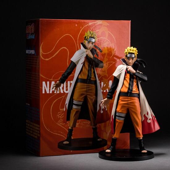 Hot ! NEW 24cm Uzumaki Naruto action figure toy Christmas gift doll collectors minren new hot christmas gift 21inch 52cm bearbrick be rbrick fashion toy pvc action figure collectible model toy decoration