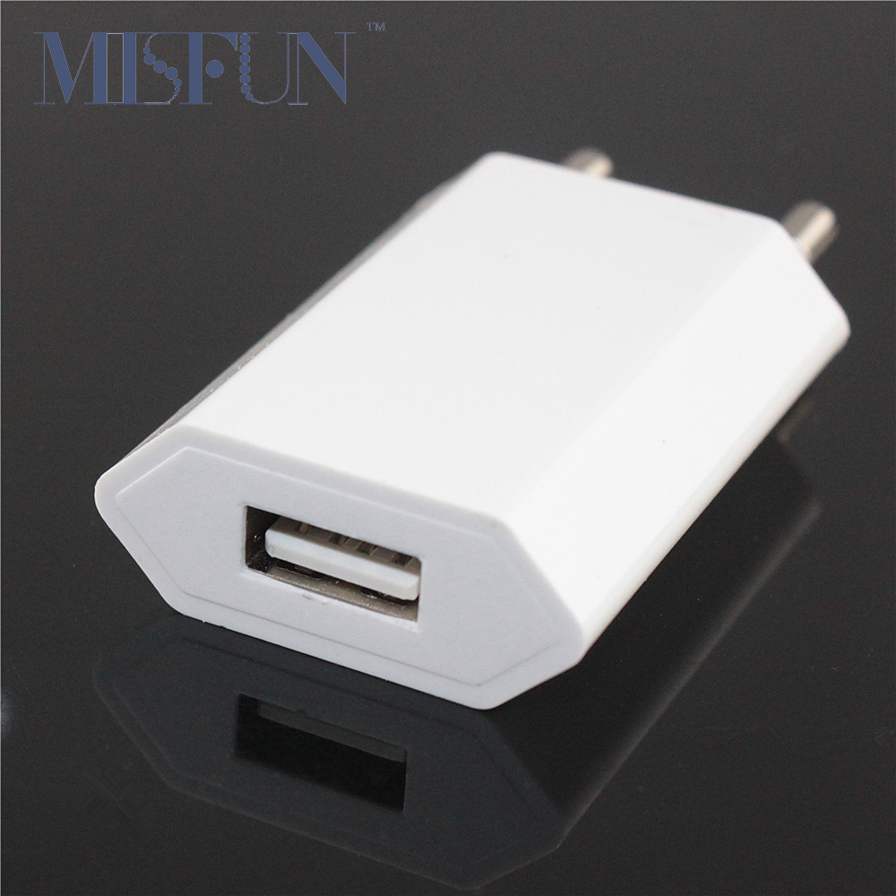 Universal EU Plug USB Power Home Wall Charger Adapter for iPhone 4 4s 4G 5 5s 5c 6 6s 7 Plus Ipad Mobile Phone Travel Charging