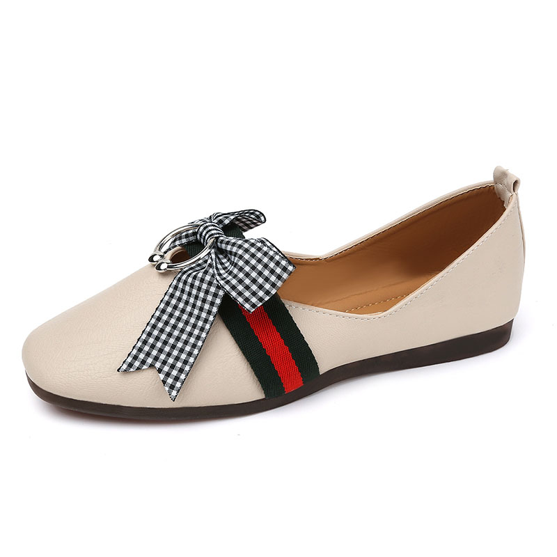 2017 Women Flats Slip on PU Leather Casual Shoes Womens Summer Comfortable Round Toe Fashion Flat Shoes Women Size 35-40