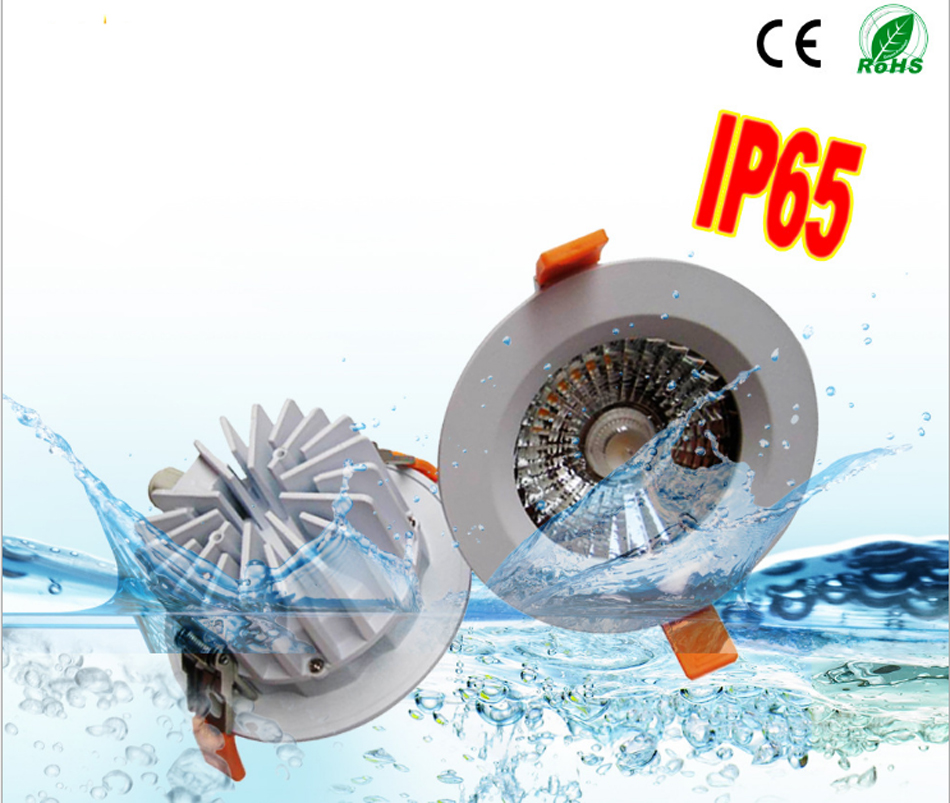 High quality ultra brightness SMD LED waterproof LED downlight lamp IP65 bathroom light 5W 7W 9W 12W 15W 220v ledceiling light