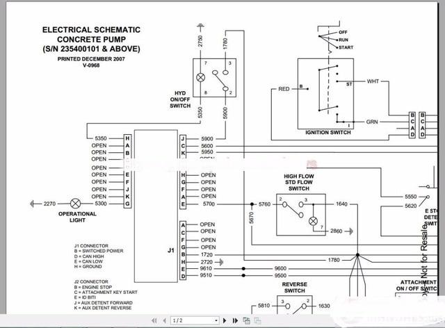 Aby Switch Wiring Diagram Bobcat Schematy Instrukcja Pełny Zestaw Dvd W Bobcat
