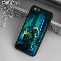 MaiYaCa Star Wars Yoda Phone Case Cover For iPhone 5s SE 6 6s 7 8 plus 10 X Samsung Galaxy S6 S7 S8 edge note 8