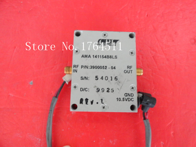 [BELLA] CPI AMA141154B8LS 10.5V SMA Supply Amplifier