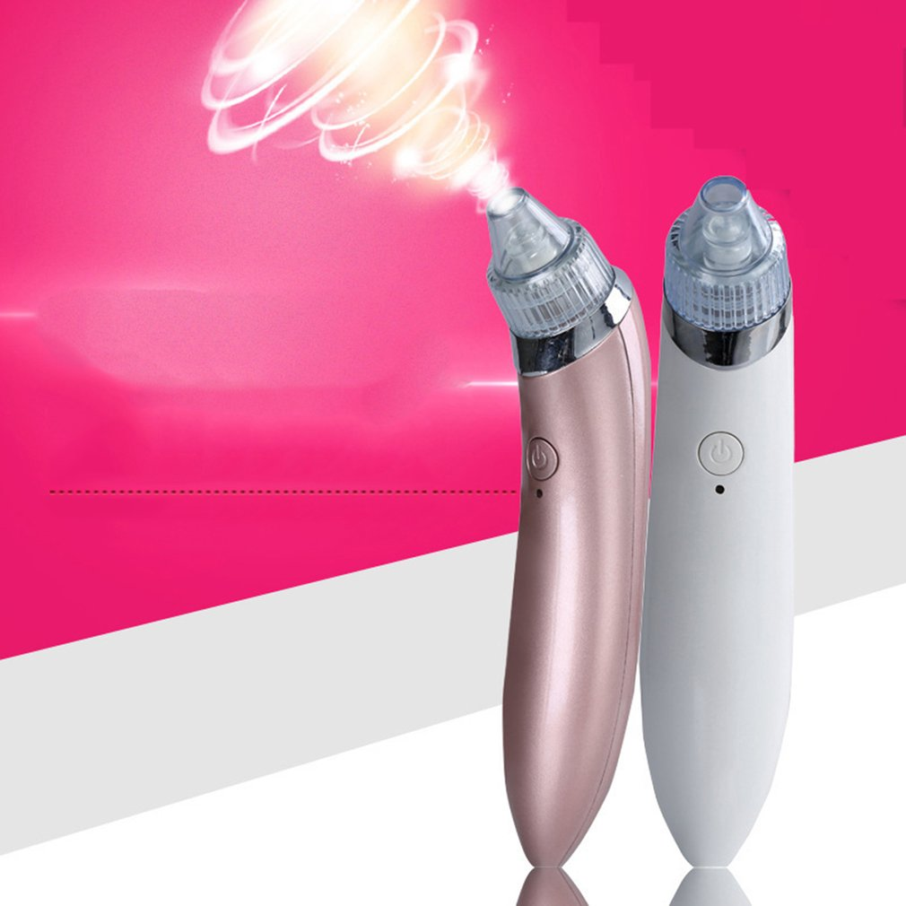 Portable Electric Suck Blackhead Remover Pore Clean Exfoliating Instrument Spot Cleaner Solid Diagnostic-tool Makeup Beauty