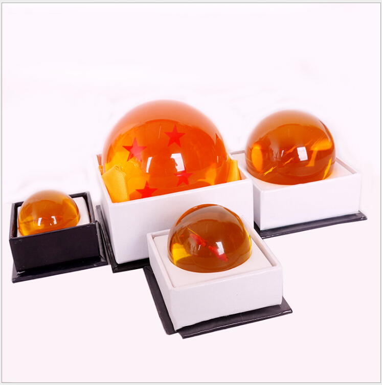 Original Box Anime DBZ Dragon Ball Z Action Figures Cosplay Crystal Ball Stars Children Kids Toy Gift in Action Toy Figures from Toys Hobbies