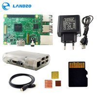 Raspberry Pi 3 Model B Starter Kit With Pi 3 Board 16G Memory Card HDMI Cable