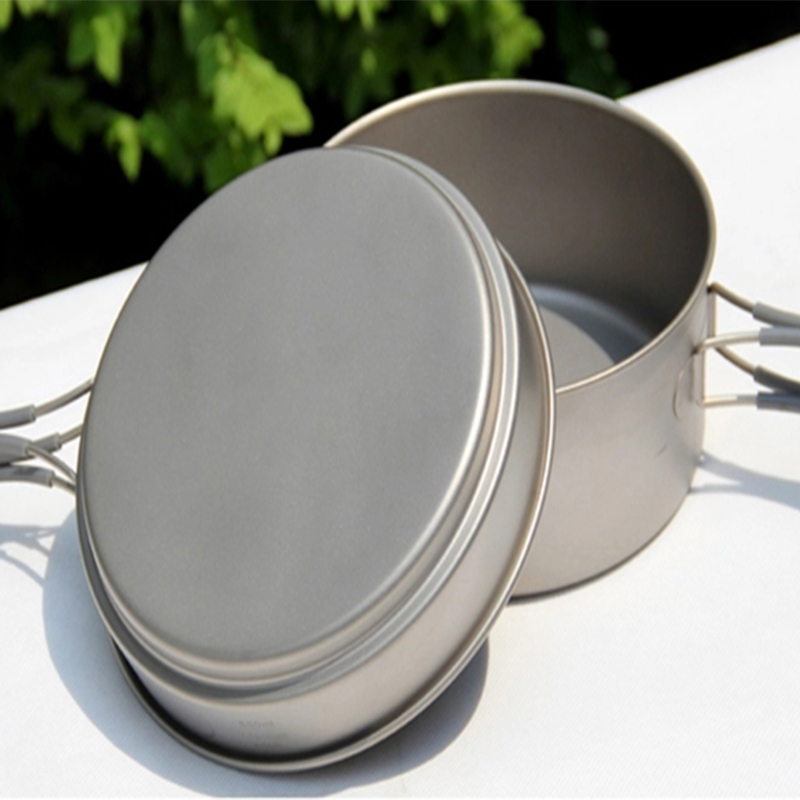 Keith Titanium Cookware Camping Cook Titanium Pot Outdoor Camping Hiking Hunting Picnic Cutlery Set Cauldron & Frying Pan Ti6017 keith 3pcs titanium pans bowls set with folding handle cook sets titanium pot set camping hiking picnic cookware utensils ti6053