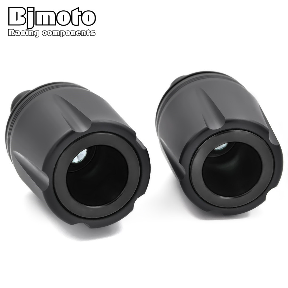 BJMOTO Motorcycles Accessories Exhaust Pipe Frame Slider Motor Crash Pads Falling Protection For Kawasaki Z900 Z 900 2017 hot moto accessories frame slider for ktm duke 125 200 390 front and rear fork wheel frame slider crash pads falling protection
