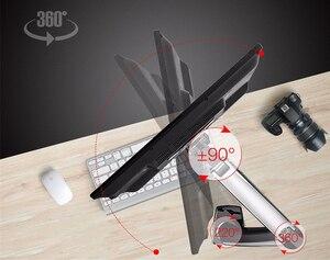 """Image 3 - NB brazo de soporte de Monitor LED F80 + FP 1 para Monitor sin agujero VESA, 17 27 """", resorte de Gas, montaje de puntal de Gas de movimiento completo, carga de 2 6,5 kg"""