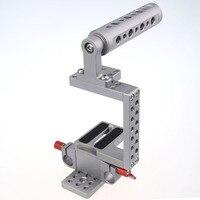CAMVATE DSLR Camera Video Cage Rig Kit Top Handle For BMPCC Sony Panasonic Best Steadicam Handheld